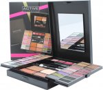 Active Glamour Endless Colour Compact With Mirror 36 Øyenskygger + 4 Leppestift + 2 Blushers + 1 Bronzer Powder + 1 Eyeliner + Applikator