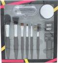 Active Cosmetics Prestige Luxe Brush Gavesett 6 Koster + Speil + Øyevippetang + 5 Applikatorer + Spisser