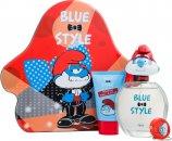 The Smurfs Papa Gavesett 100ml EDT + 75ml Showergel + Keychain