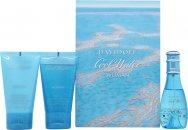 Davidoff Cool Water Woman Gavesett 30ml EDT + 50ml Shower Breeze + 50ml Body Lotion
