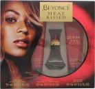 Beyoncé Heat Kissed Gavesett 30ml EDP + 75ml Body Lotion + 75ml Shower Gel