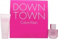 Calvin Klein Downtown Gavesett 50ml EDP + 100ml Shower Gel
