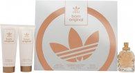 Adidas Born Original for Her Gavesett 50ml EDP + 75ml Body Lotion + 75ml Shower Gel